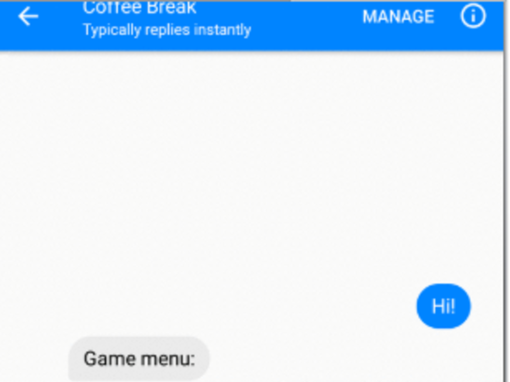 Coffee Break Games