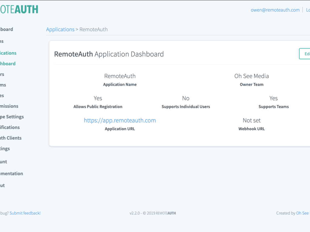 RemoteAuth