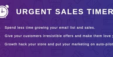 Urgent Sales Timer Shopify App
