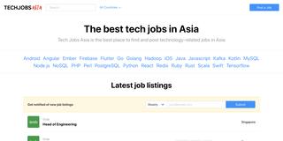 Tech Jobs Asia