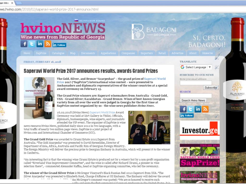 Hvino News
