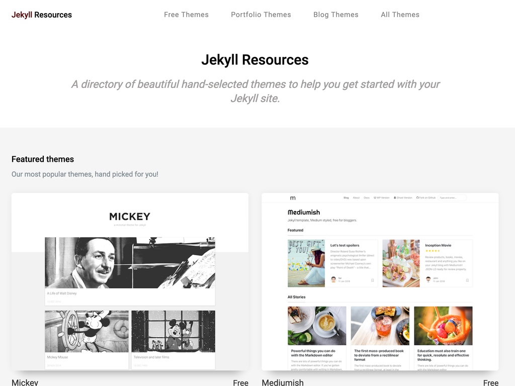 Jekyll Resources