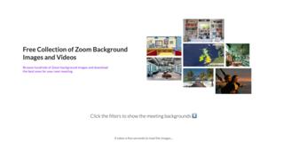 ZoomBackground.io - Background Image & Video Directory