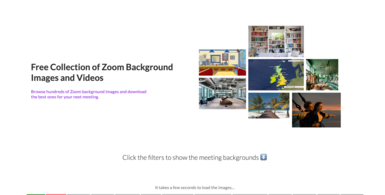 ZoomBackground.io - Background Image & Video Directory