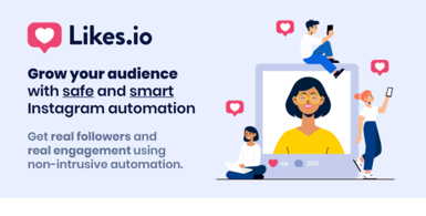 Likes.io - Smart Instagram Automation