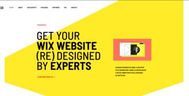 Wix Design Agency