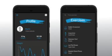 Stronger - Fitness mobile app