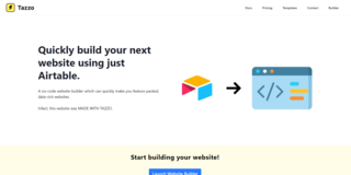 Tazzo Website Builder