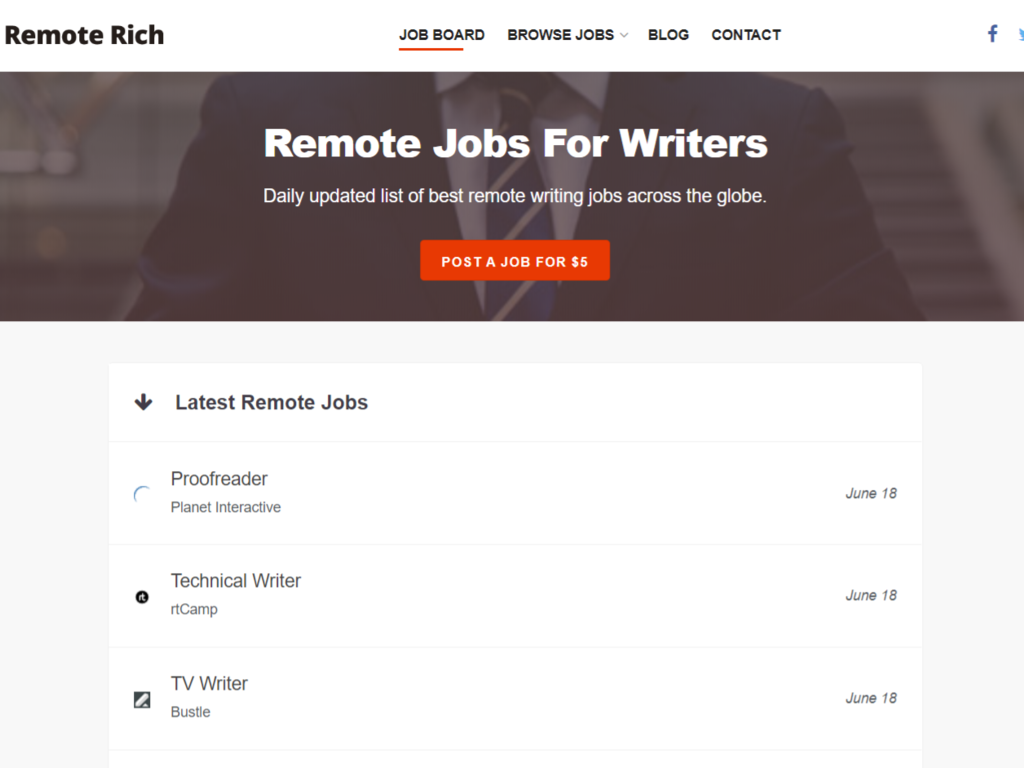 Remote Rich