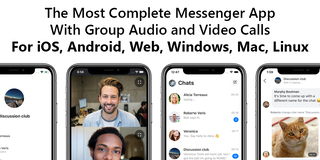 The most complete cross-platform audio and video messenger app