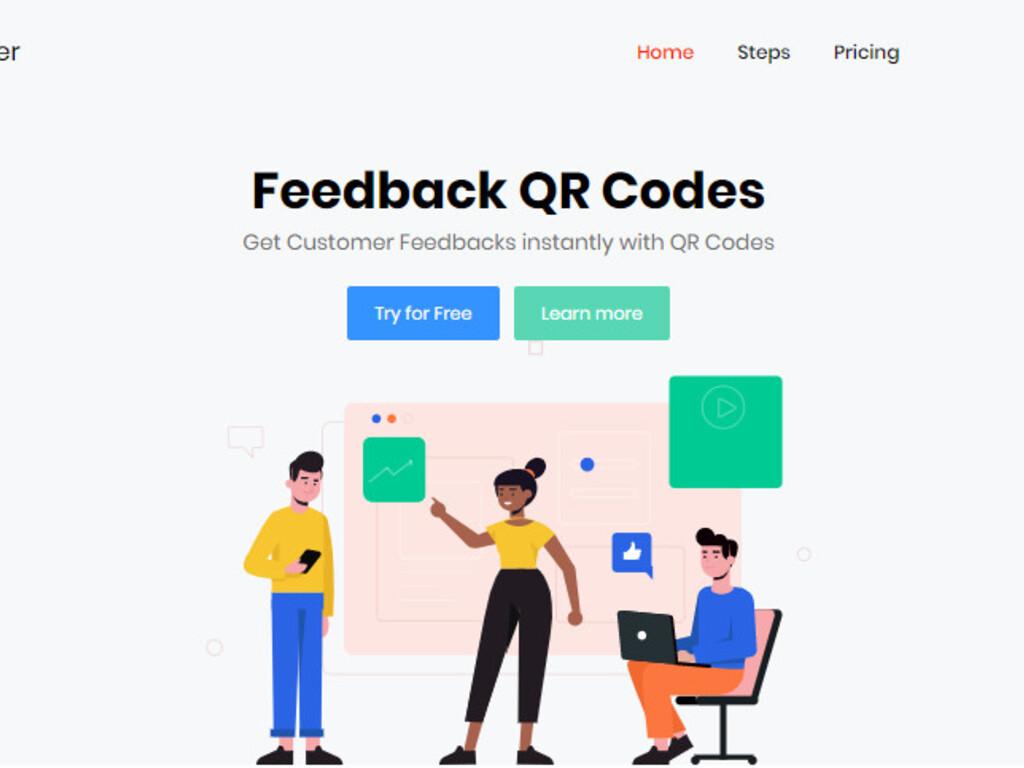 Feedback QR Codes