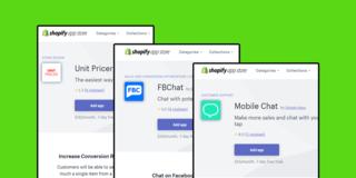 3 Shopify Plugins