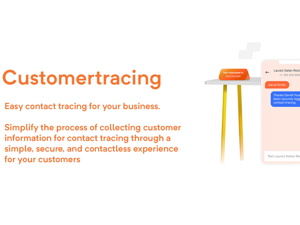 Customer Tracing App