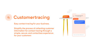 Customer Tracing App