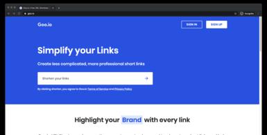 Free URL Shortener