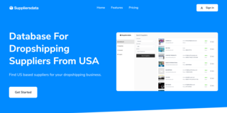 Dropshipping and e-commerce supplier database SaaS