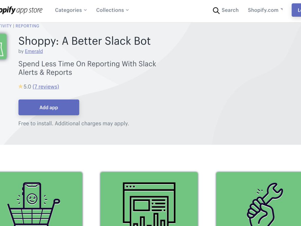 Shopify Slack Bot