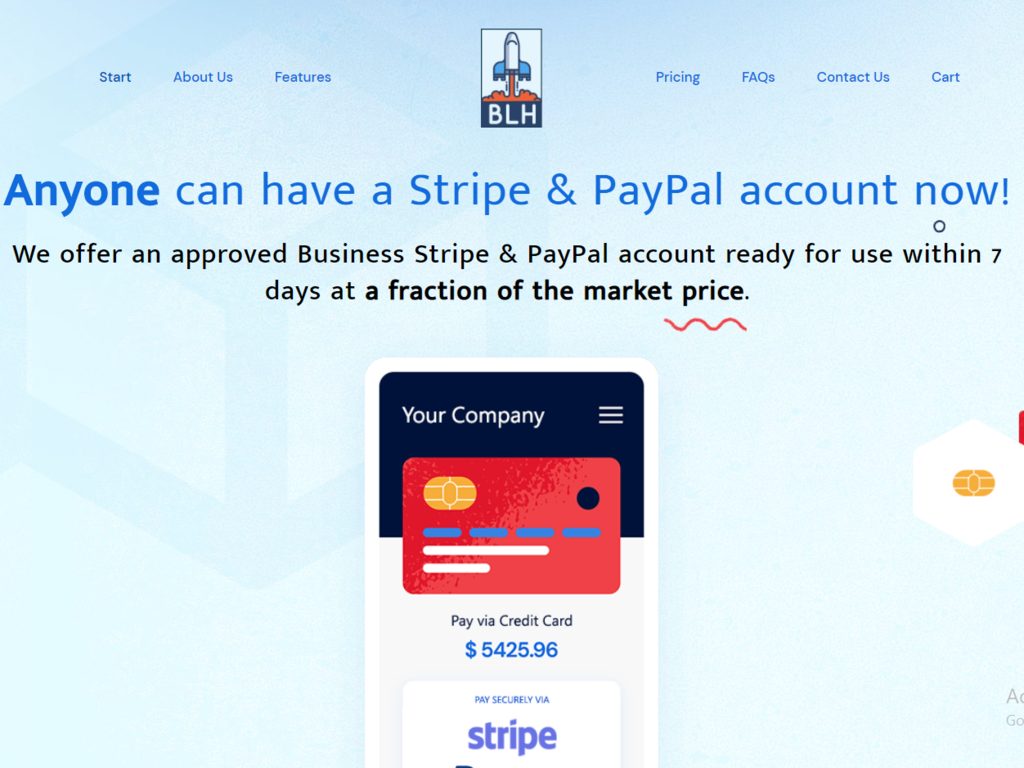 Business Launch Drop Servicing Platform