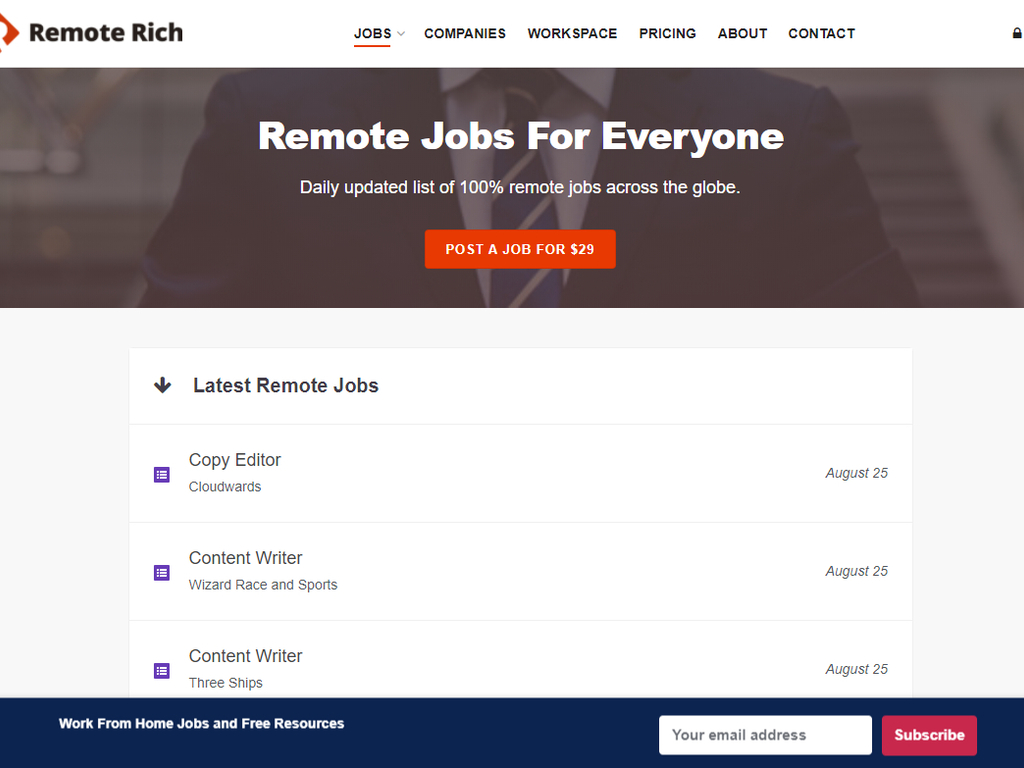 Remote Job Board