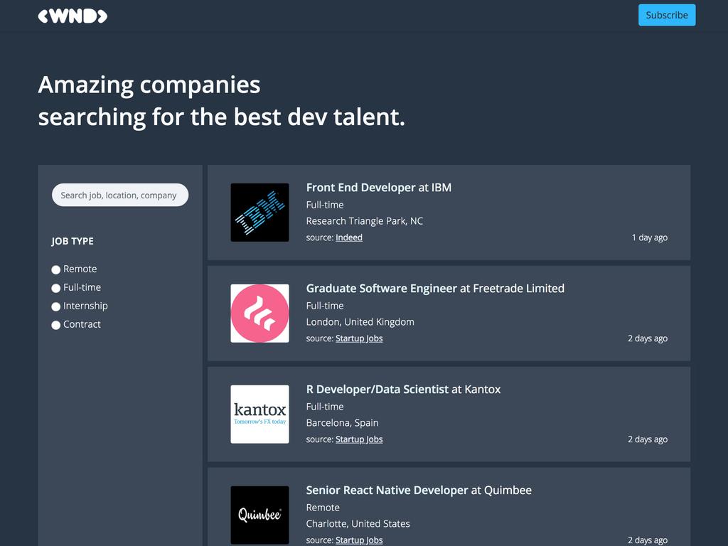 We Need Developers