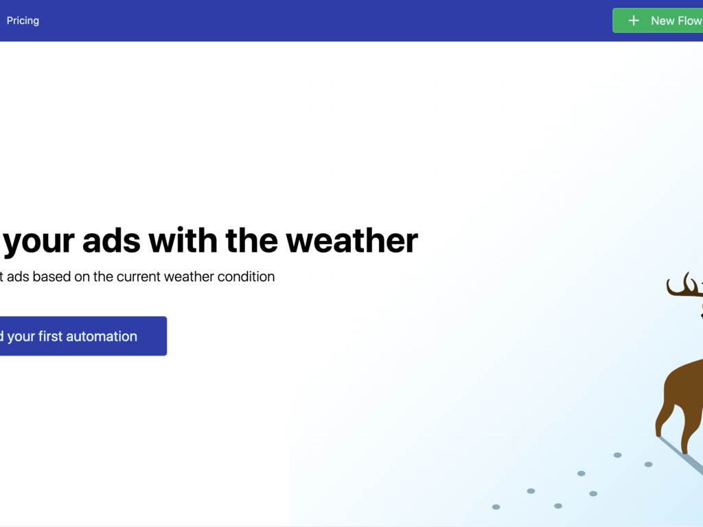 Advertising Synced to Weather