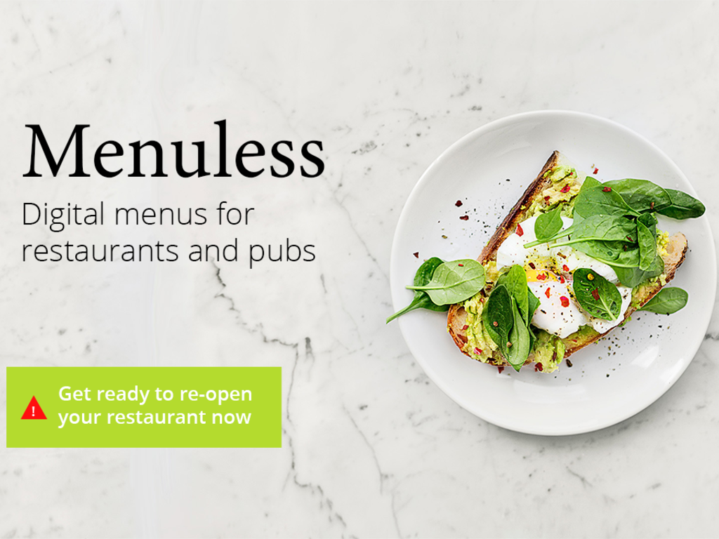 Digital Menu for Pubs and Restaurants