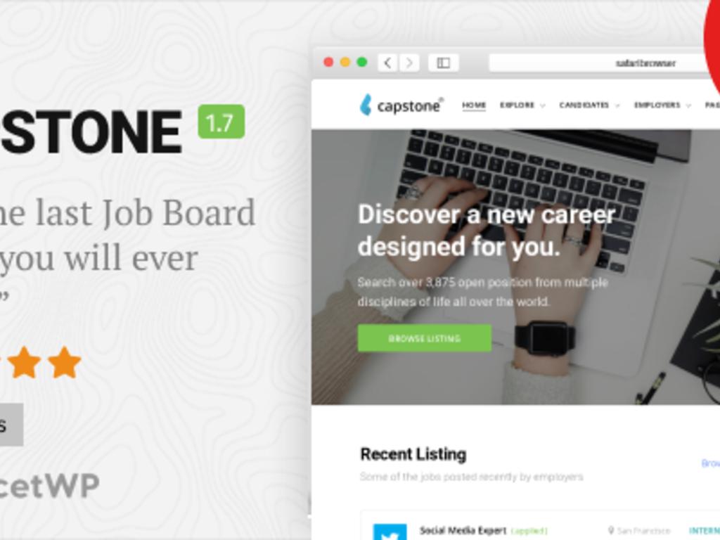 WordPress Job-Board Theme Business