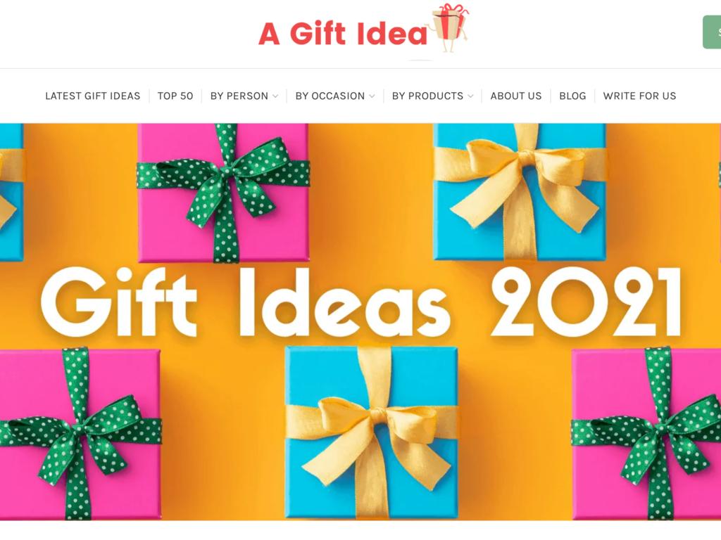 Affiliate Gift Website