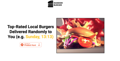 Random Burger Subscription Service
