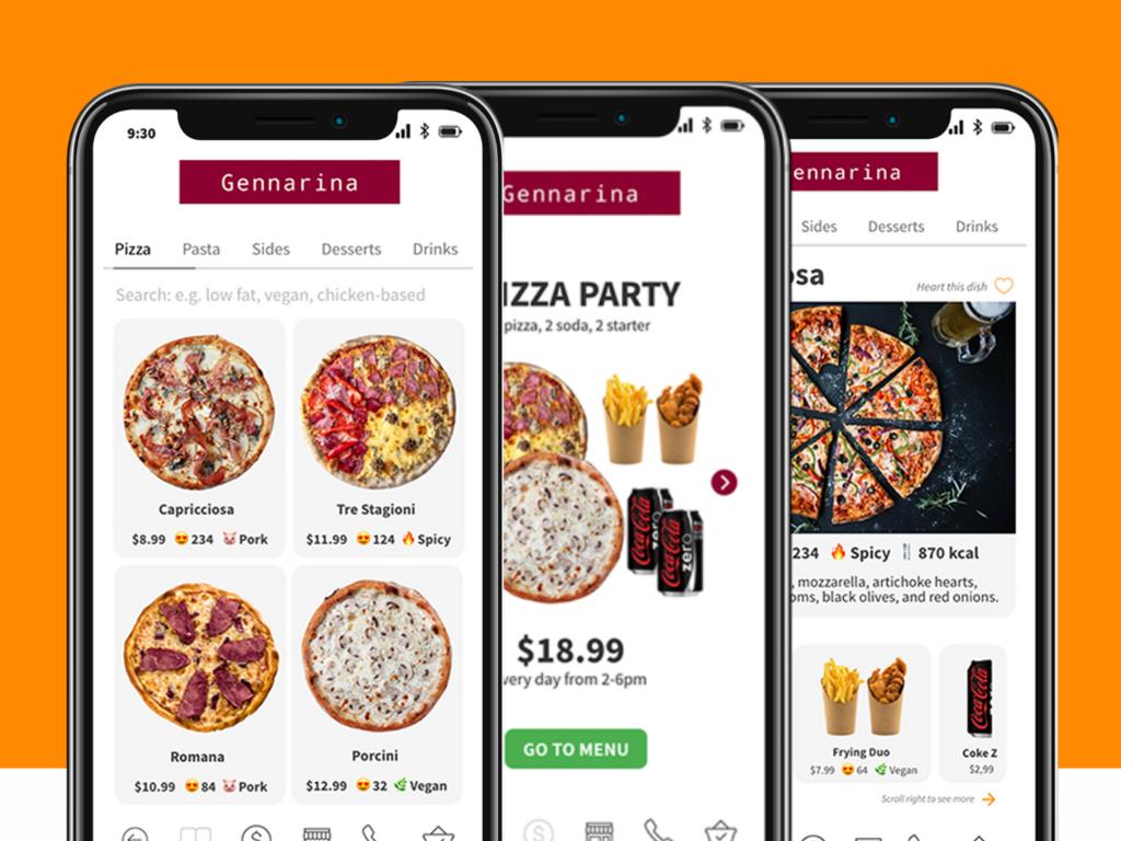 Mobile Digital Menu App