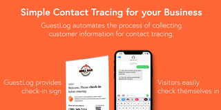 Automated Contact Tracing for Restaurants