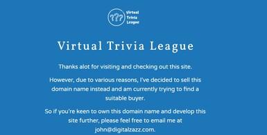 Virtual Trivia League