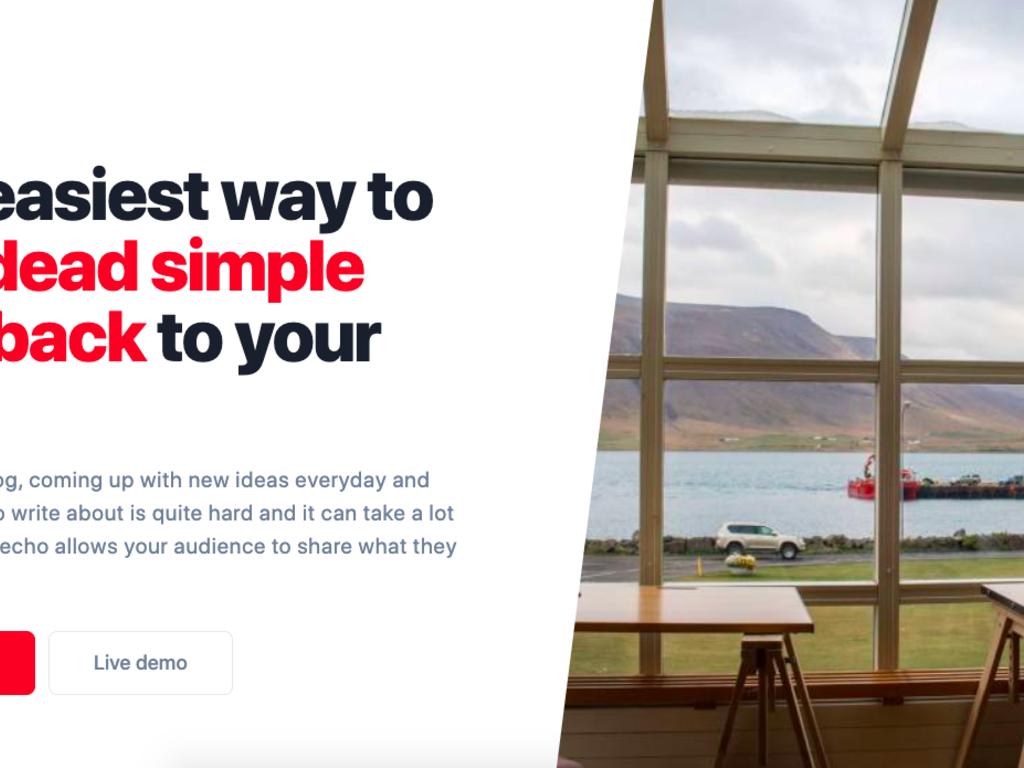 Unique Website Feedback Embeddable