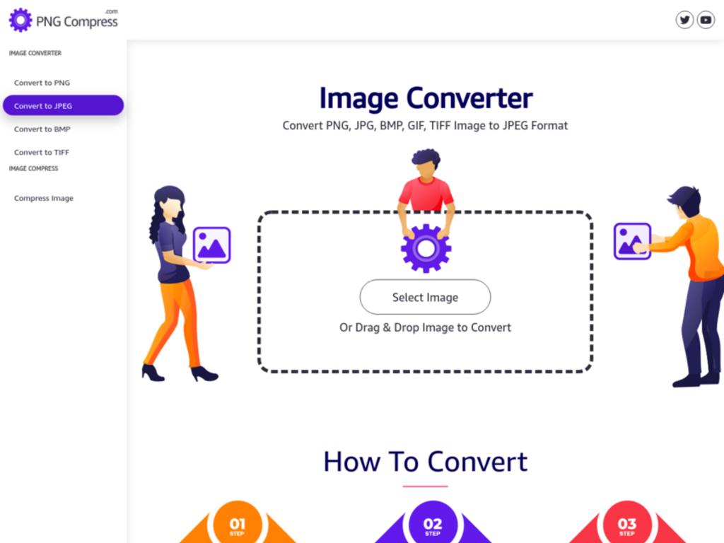 Free Online Image Converter & Compression Tools