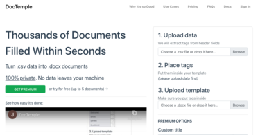 Document Filling & Automation