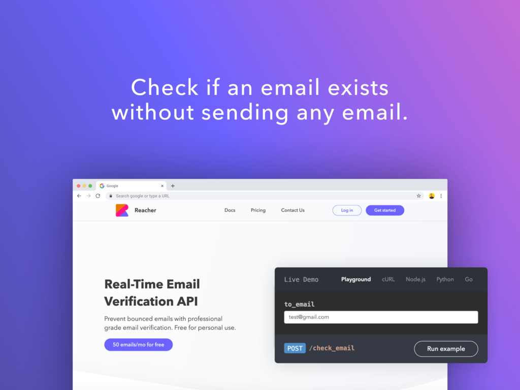 Open-Source Email Verification API
