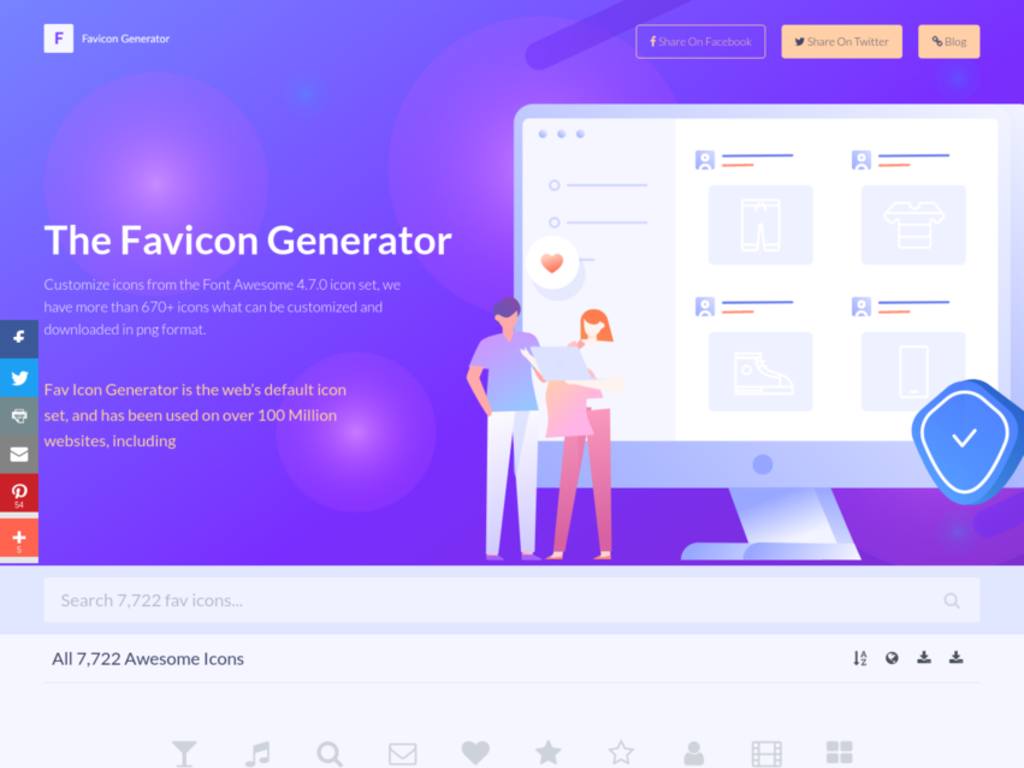 Icon Creator and Customiser