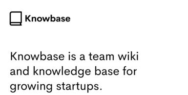 Team Wiki & Knowledge Base