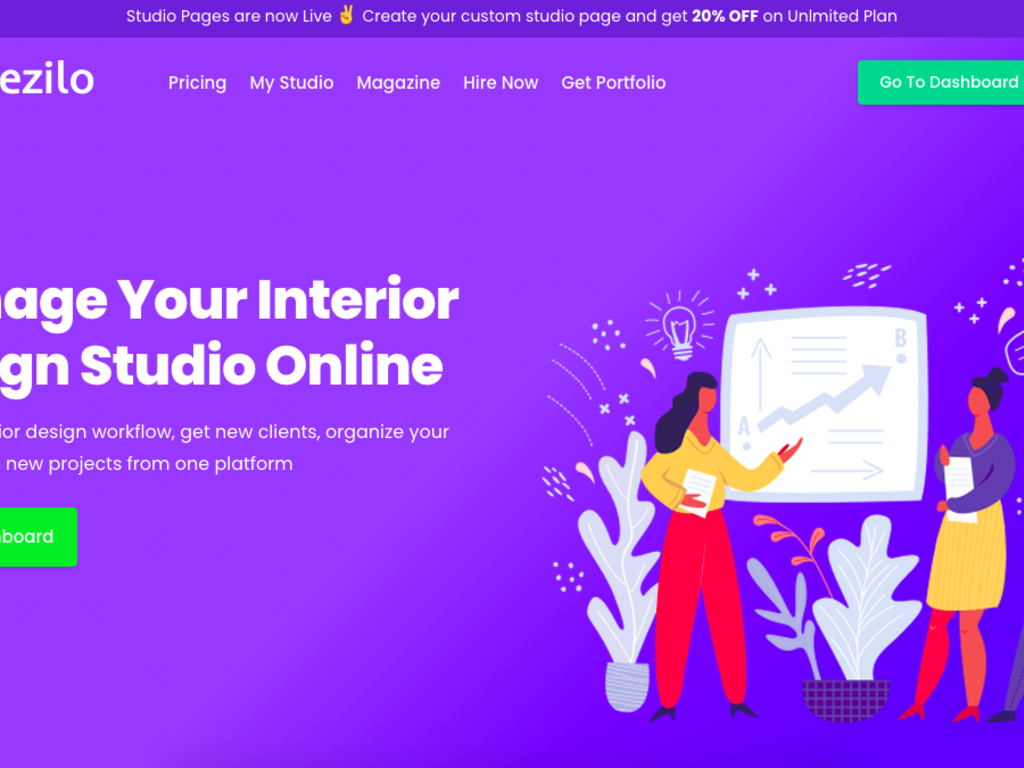 Studio Management Platform for Interior Designers