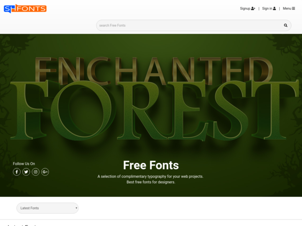 Download Best Free Fonts