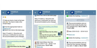 Telegram Bot for Tracking Hotel Room Rates