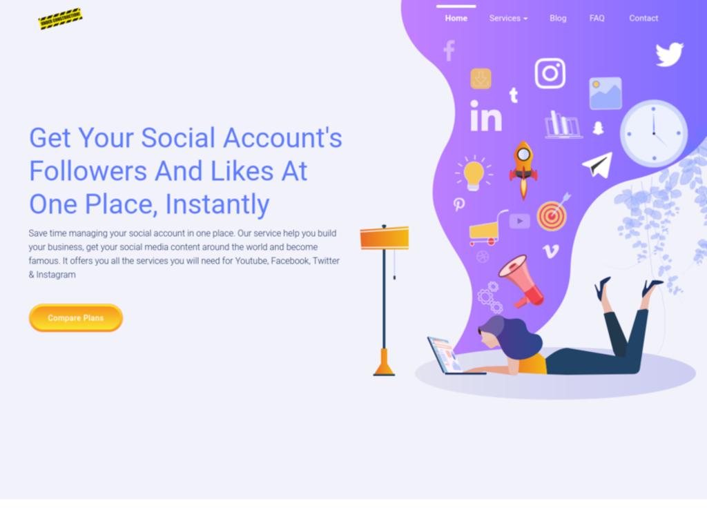 Social Media Likes and Followers Service