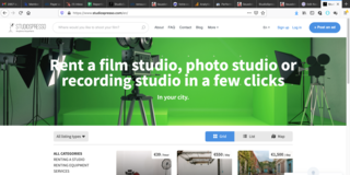 European Film Studio Marketplace