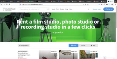 European Film Studio Marketplace