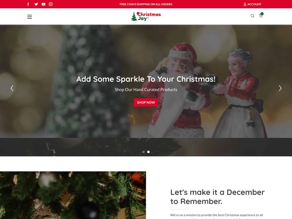 Christmas Dropshipping Store