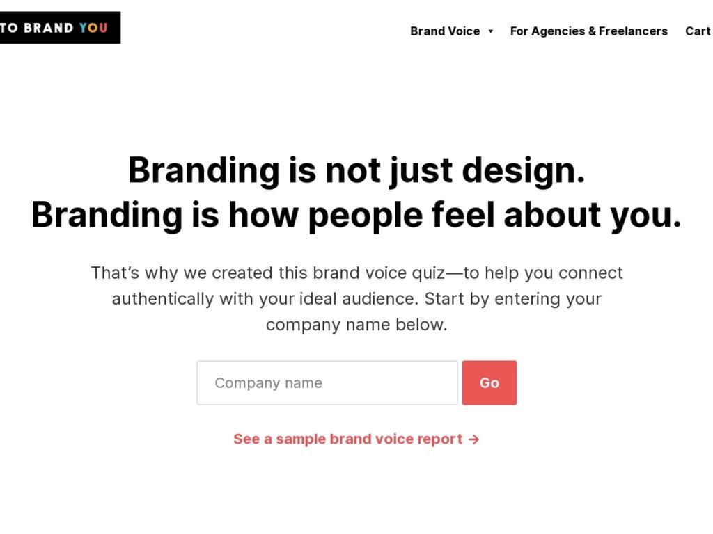 Brand Voice Quiz