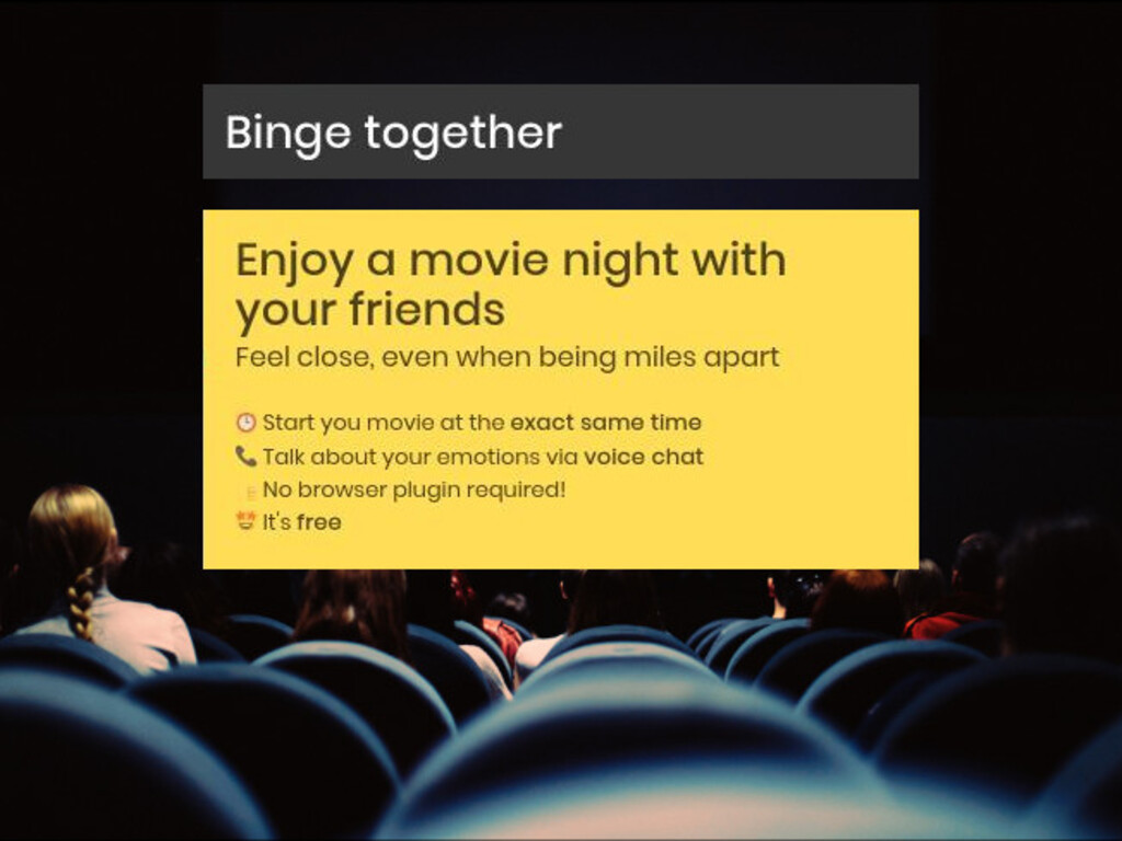 Watch Movies with Friends