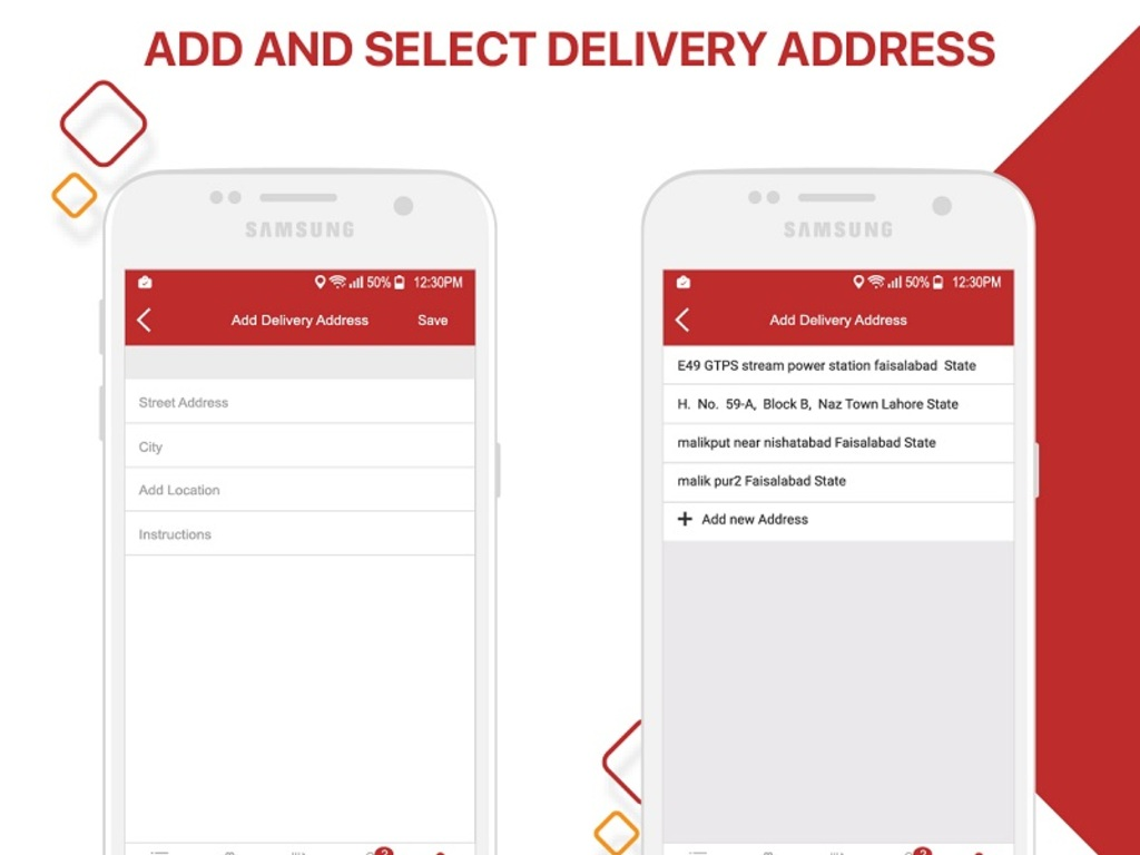 Restaurant Food Delivery & Ordering System for iOS