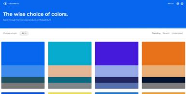 Colour Inspiration Tool
