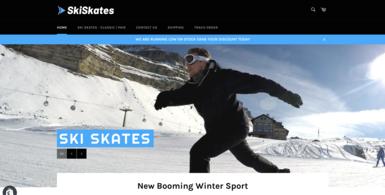 Ski Skates E-commerce Store